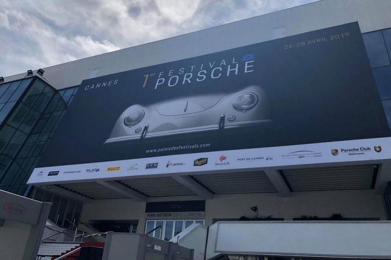 Porsche festival cannes